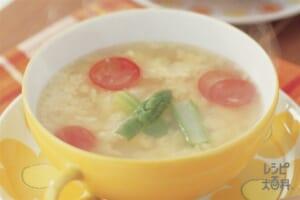 ミルファンテ(卵とチーズのスープ)