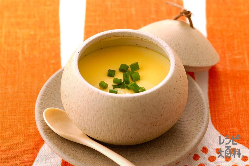 豆乳入り茶碗蒸し(卵+豆乳(無調整)を使ったレシピ)