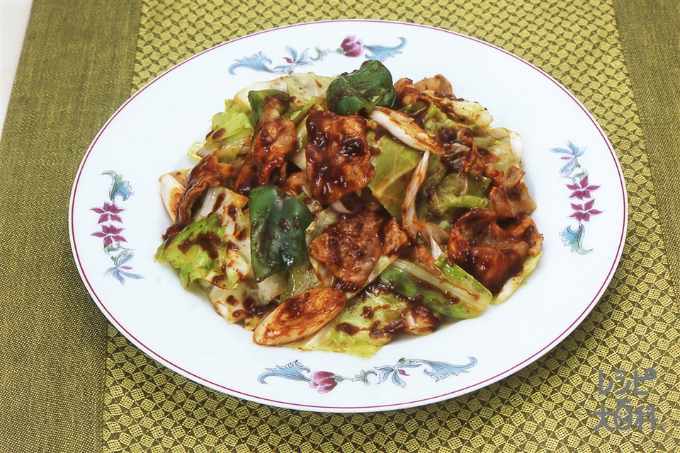 回鍋肉(豚バラ肉+キャベツを使ったレシピ)