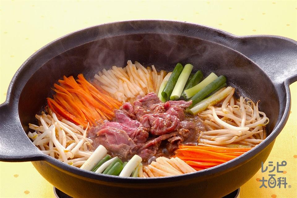 韓国風コチュジャンすき焼き