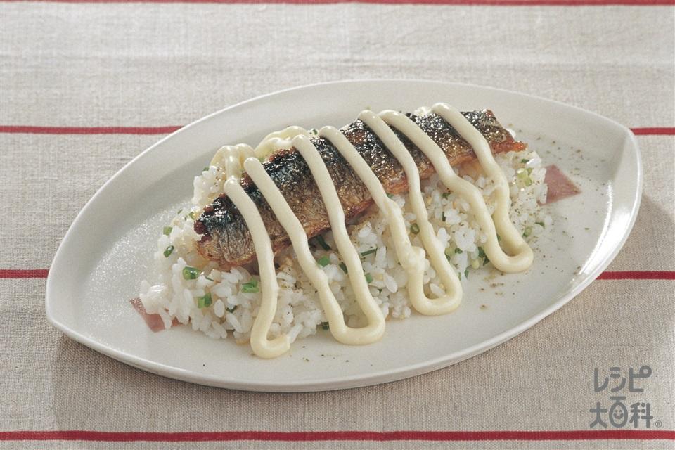 さんまの蒲焼きご飯(さんま+温かいご飯を使ったレシピ)