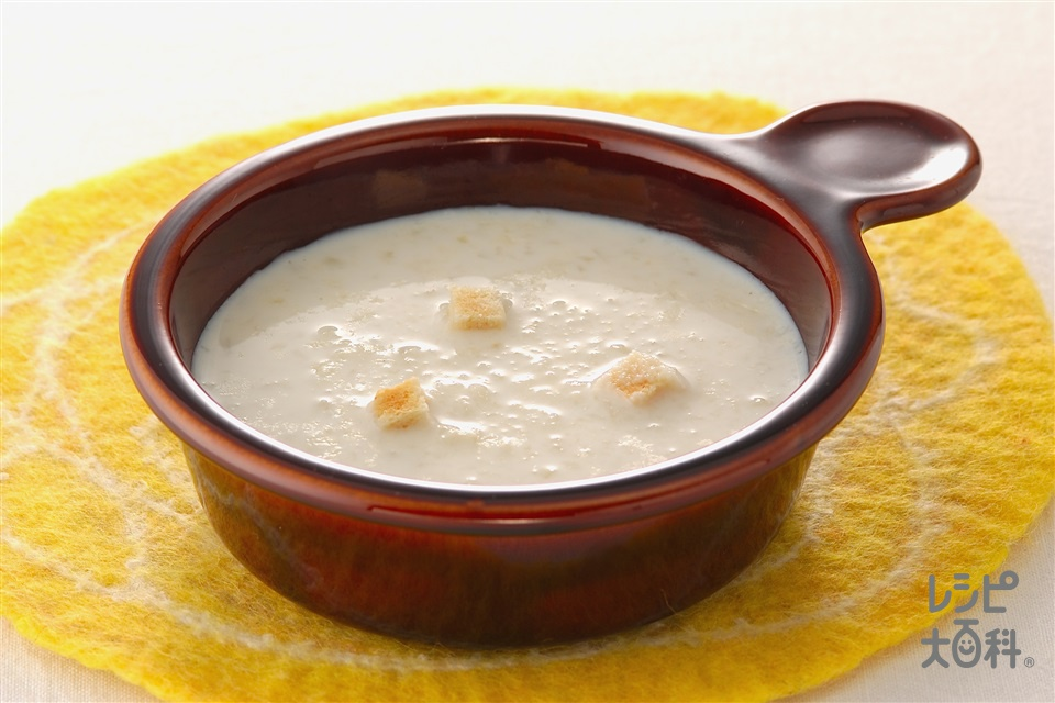 カリフラワーのポタージュ(カリフラワー+牛乳を使ったレシピ)