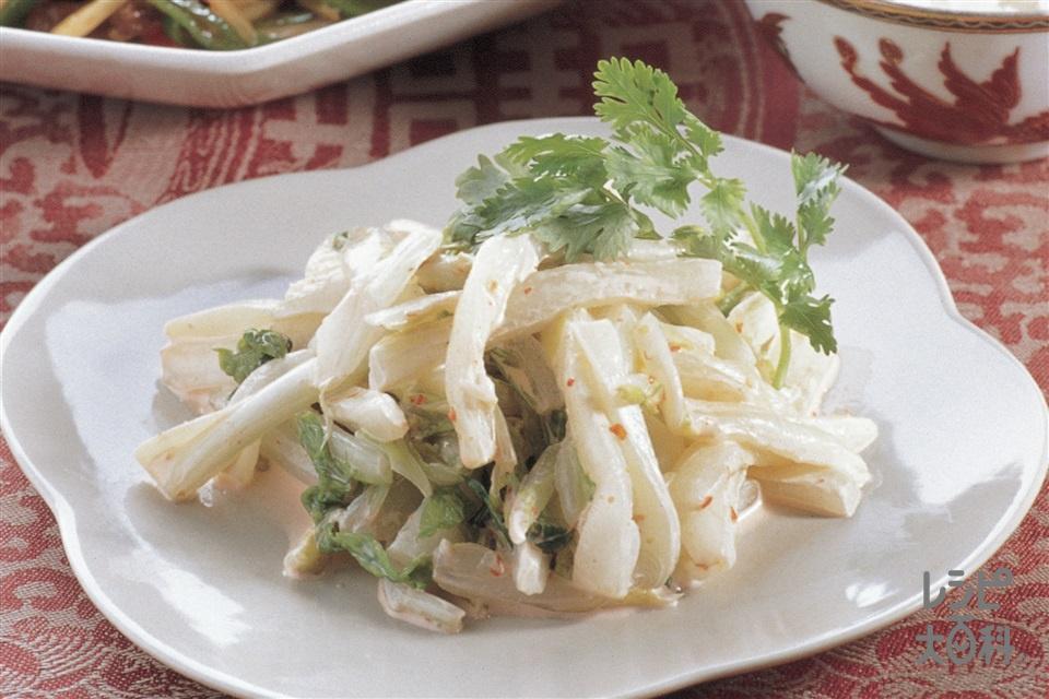 白菜の中華甘酢(白菜+「瀬戸のほんじお」を使ったレシピ)