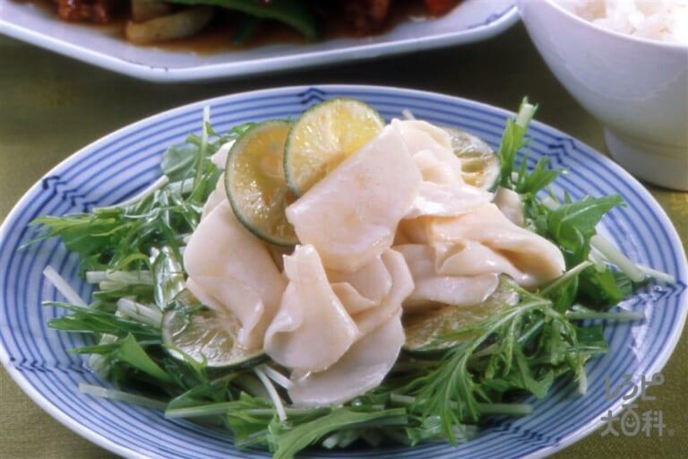 かぶと水菜のさっぱりサラダ