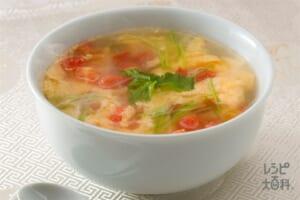 蕃茄蛋花湯(トマトと卵の香りスープ)