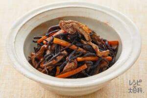 ひじきの煮物のレシピ