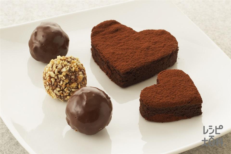 チョコレートケーキ(生クリーム+卵を使ったレシピ)