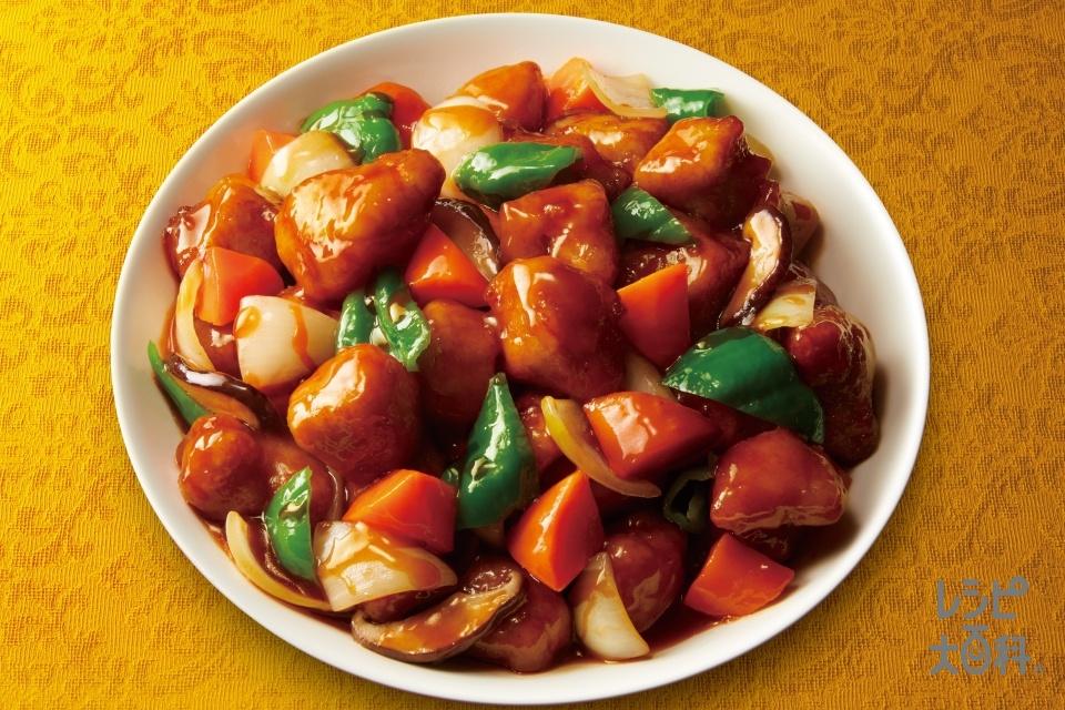 酢豚(豚もも肉+玉ねぎを使ったレシピ)