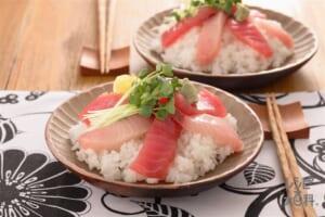 刺身寿司丼