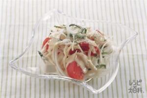 トマトと豆腐のサラダ