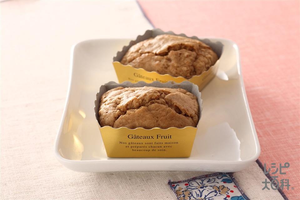 コーヒースクエアケーキ(薄力粉+牛乳を使ったレシピ)