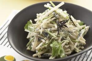 大根とひじきのゆず風味サラダ