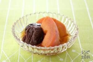 りんごとプルーンの紅茶煮(りんご+干しプルーンを使ったレシピ)