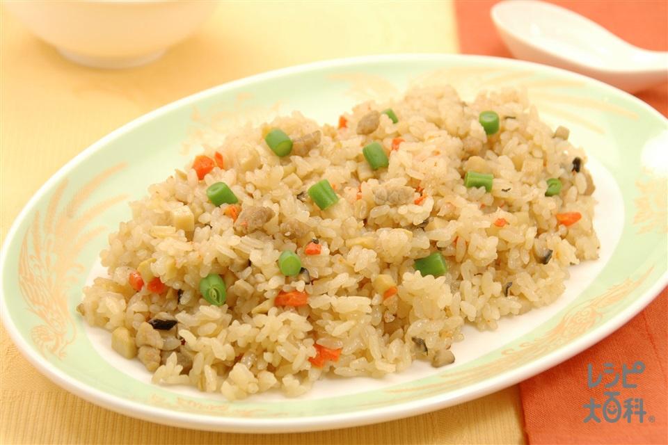 中華風五目炊き込みご飯