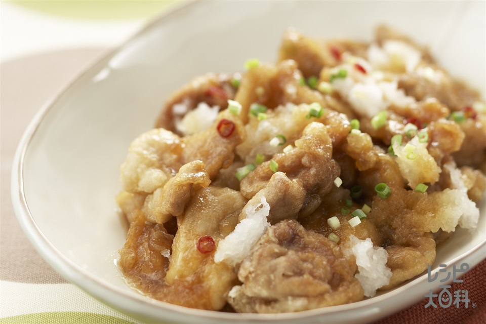 鶏肉の煮おろし(鶏もも肉+大根を使ったレシピ)