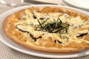 みそマヨ和風ピザ