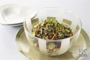 ひじきとひよこ豆のサラダ