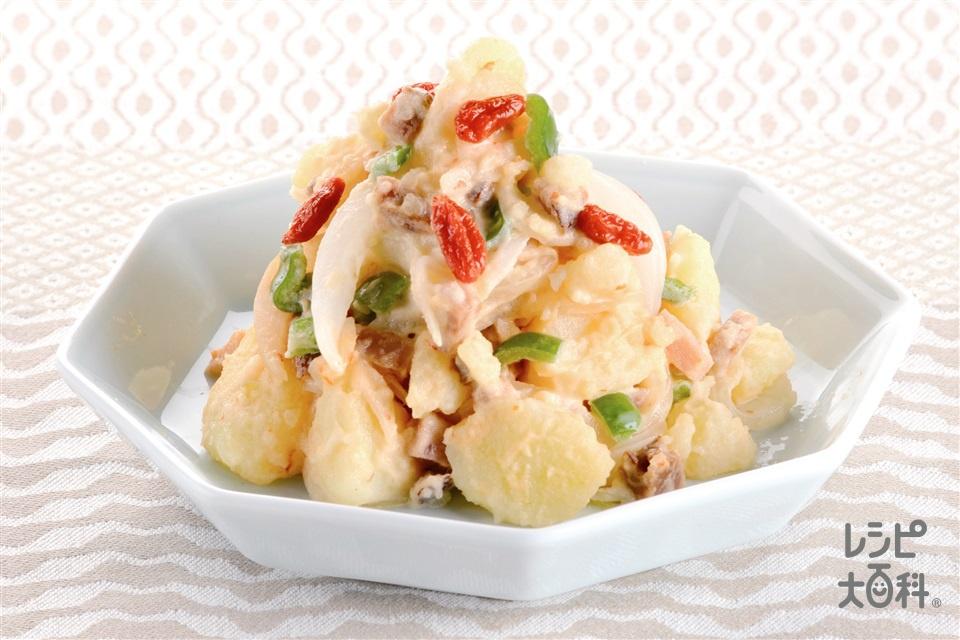 マヨバンジャンのポテトサラダ(じゃがいも+ピーマンを使ったレシピ)