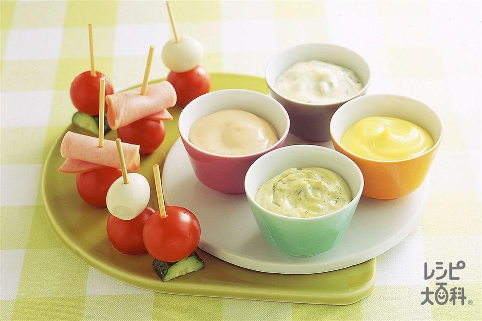 ミニトマトのピンチョス(ミニトマト+きゅうりを使ったレシピ)