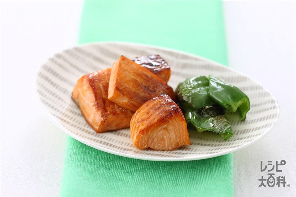 さけの漬け焼き(さけ+「味の素」を使ったレシピ)