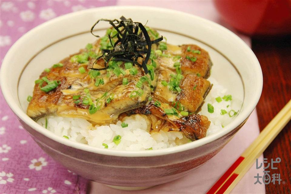 うなマヨ丼(うなぎのかば焼き+ご飯を使ったレシピ)