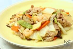 八宝菜(白菜+ゆでたけのこを使ったレシピ)