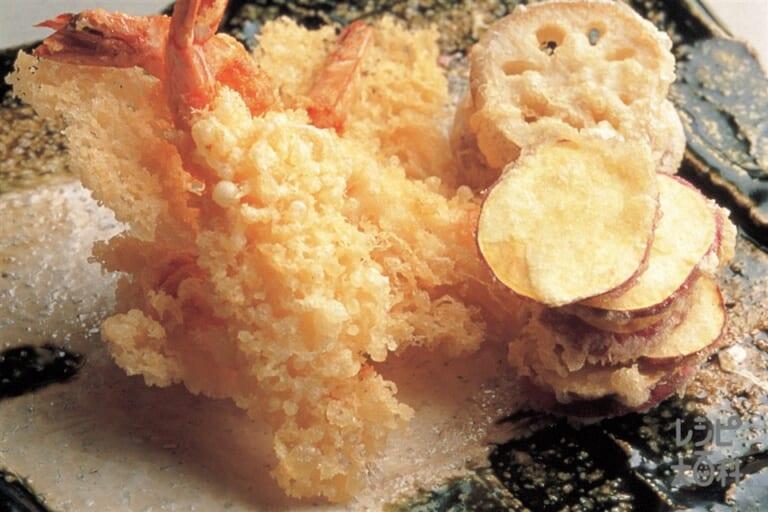 冷凍えびの天ぷら