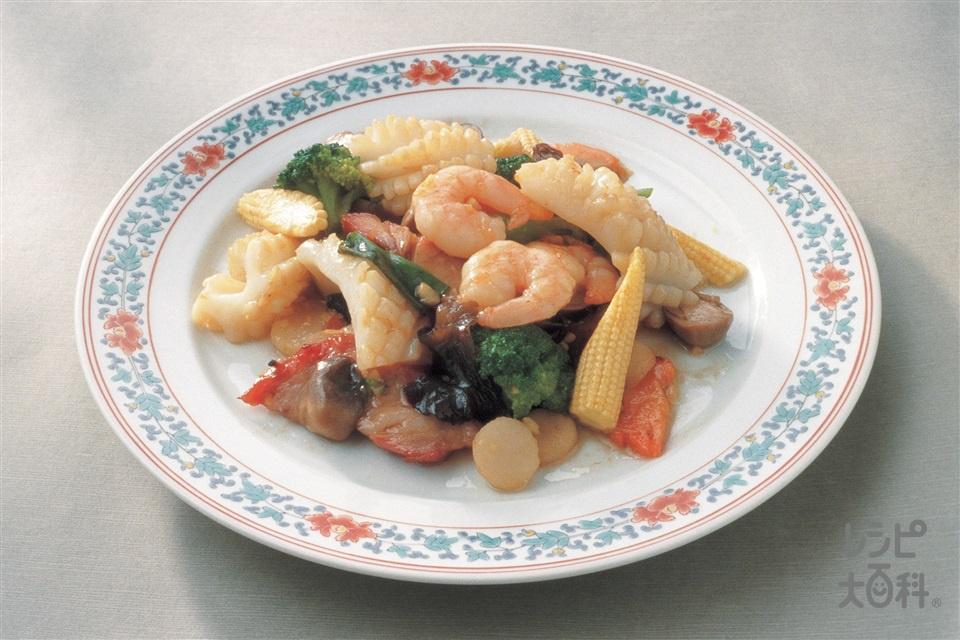 八宝菜(五目うま煮)(いか(胴)+A卵白を使ったレシピ)