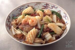八珍炒麺(五目焼きそば)