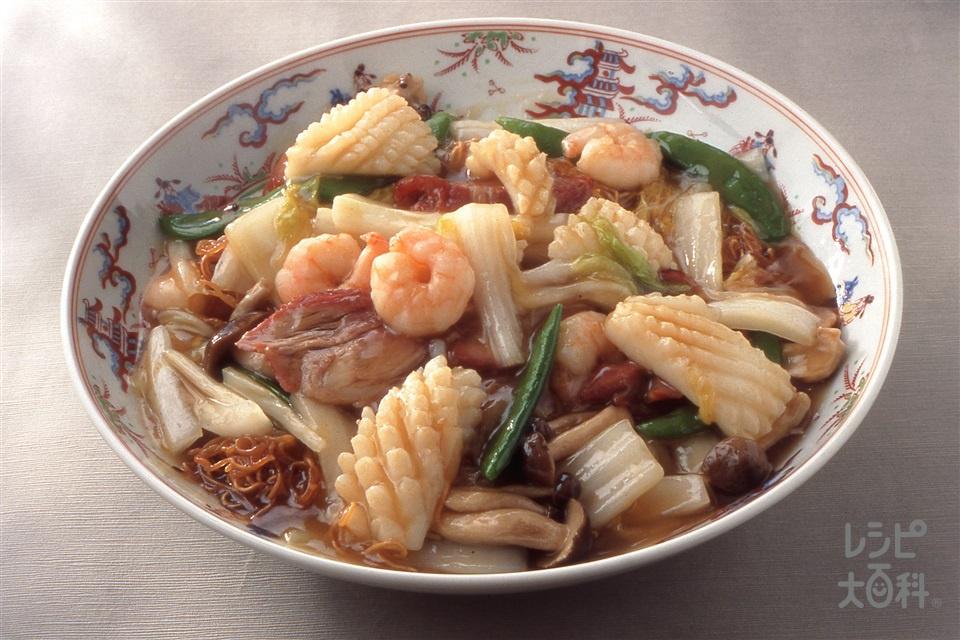 八珍炒麺(五目焼きそば)(中華めん+白菜を使ったレシピ)