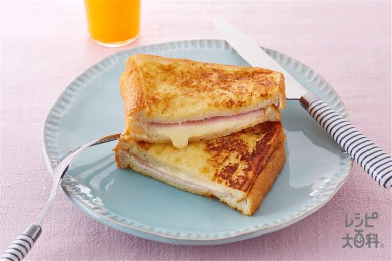 サンドイッチ風フレンチトースト