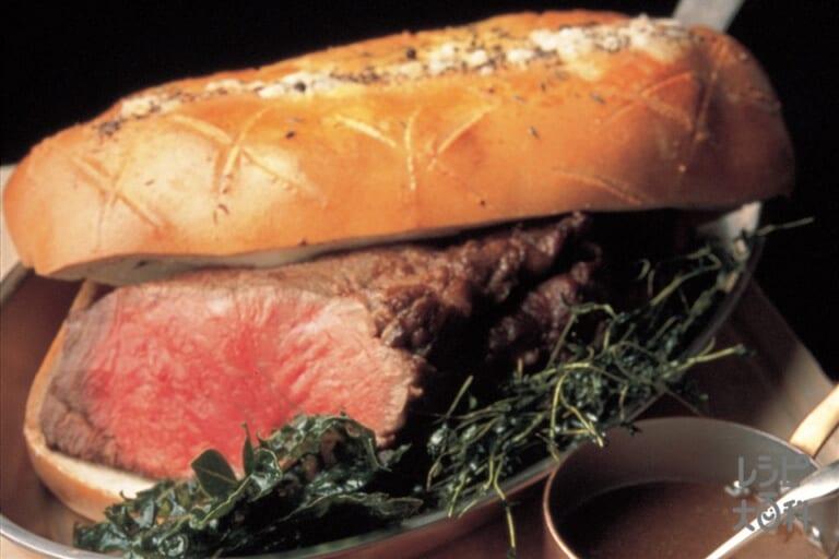 牛肉のパイ包み焼き