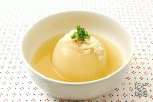 玉ねぎの丸ごとスープ煮