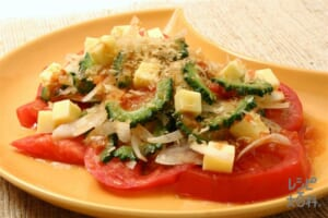 ゴーヤサラダ サルサソース