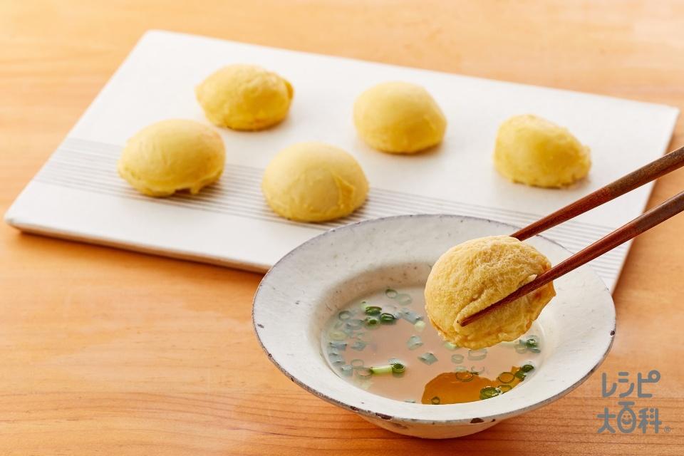 たこ焼き粉で作る明石焼き(たこ焼き粉+卵を使ったレシピ)