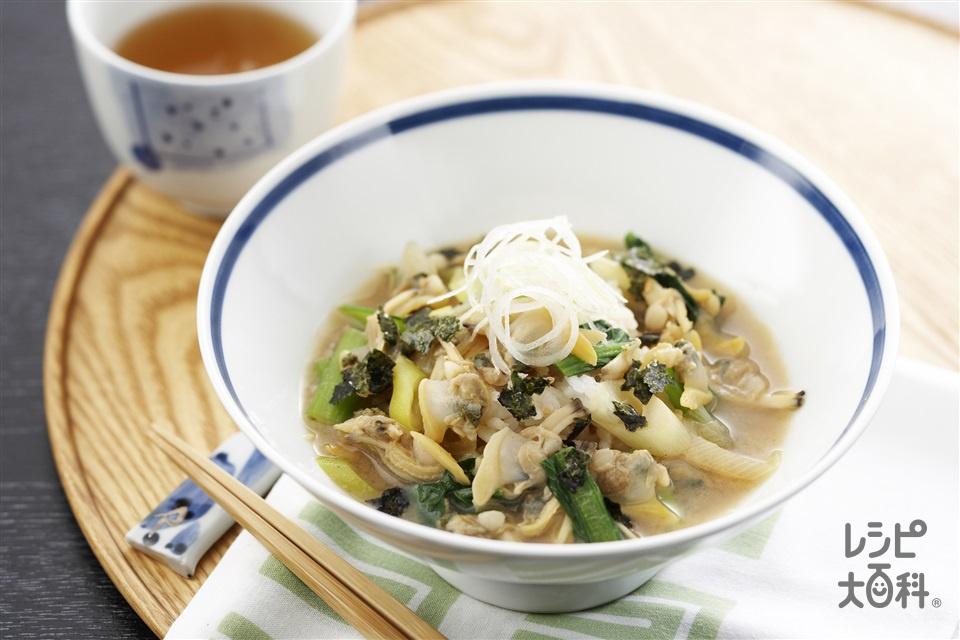 深川丼(あさり(むき身)+ご飯を使ったレシピ)