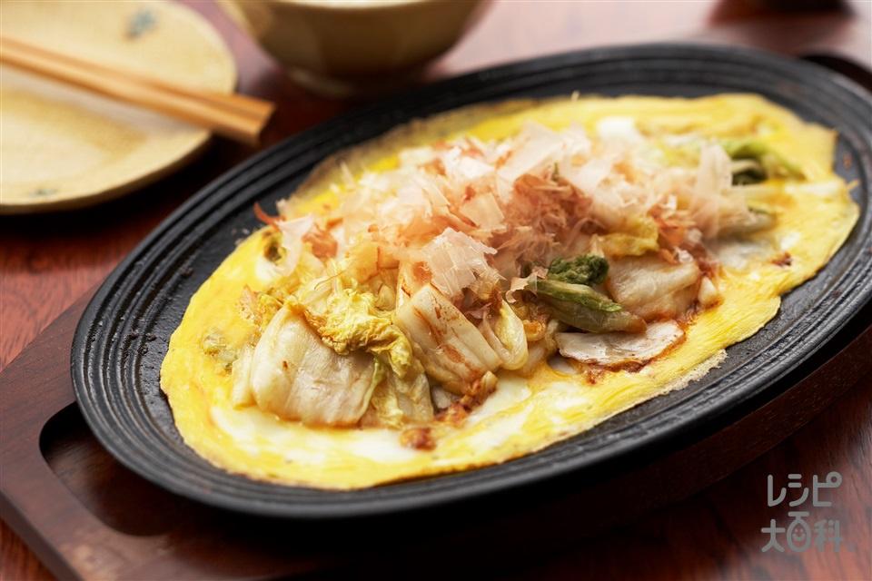 漬物ステーキ(白菜の塩漬け+卵を使ったレシピ)