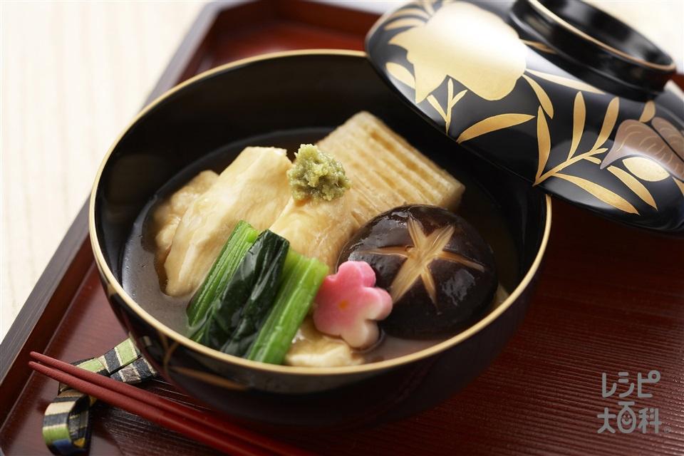じぶ煮(鶏むね肉+すだれ麩を使ったレシピ)