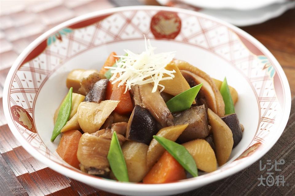 がめ煮(鶏骨つきもも肉+里いもを使ったレシピ)