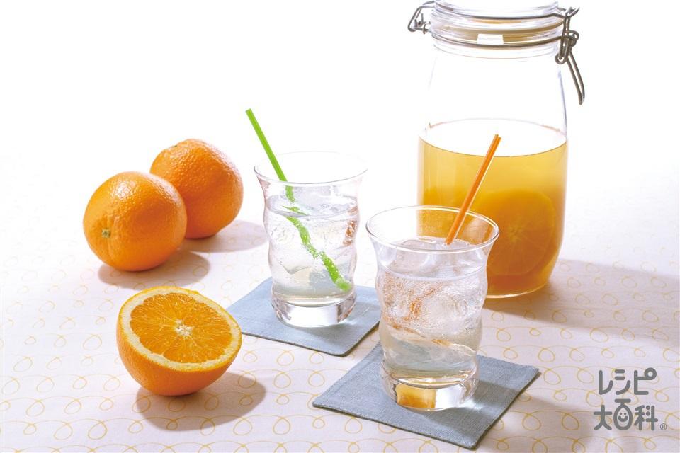 ヘルシーオレンジサワードリンク(オレンジを使ったレシピ)