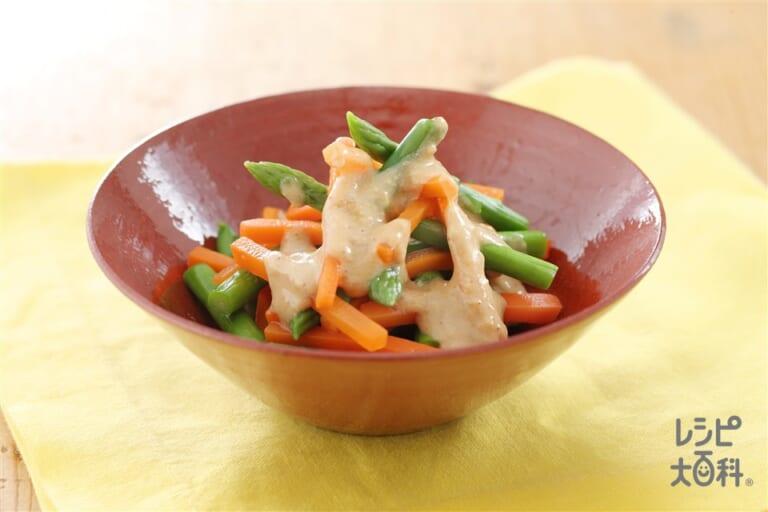 野菜の中華風ヨーグルトあえ