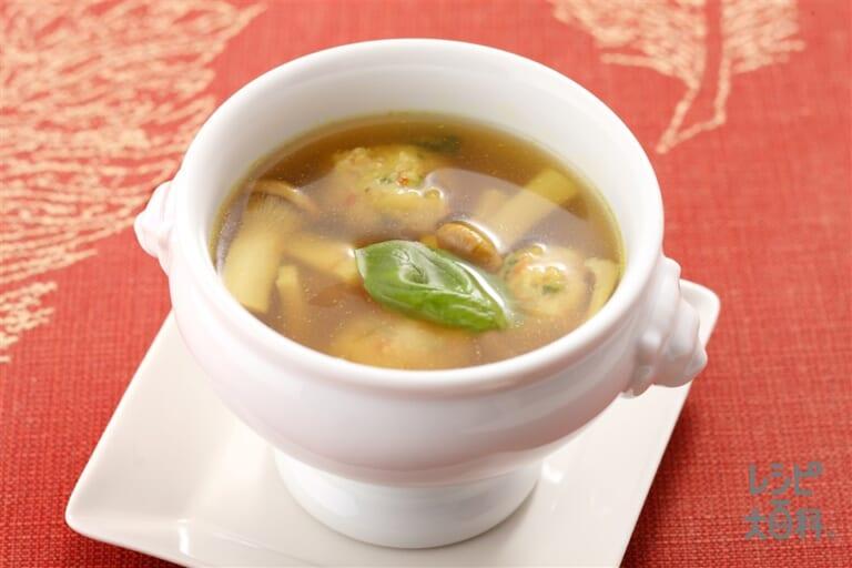 シュリンプボールスープ