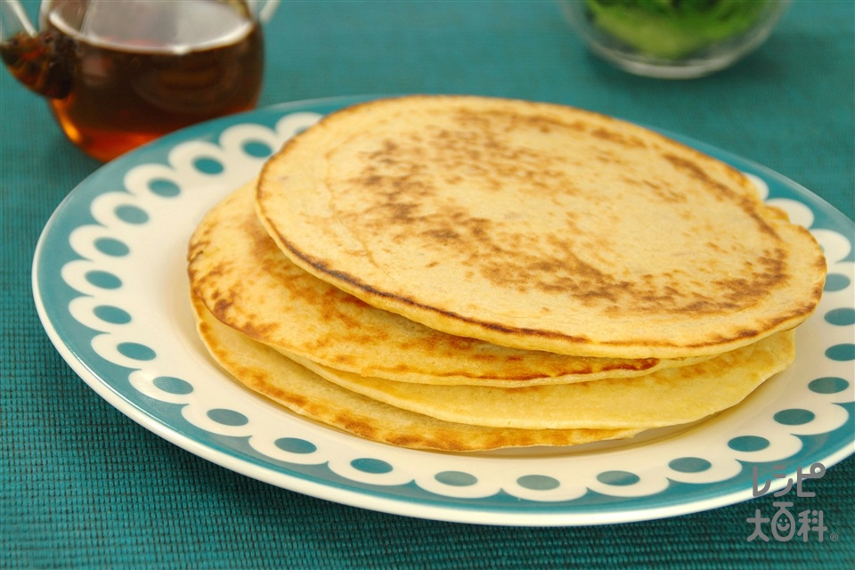 ツナマヨパンケーキ(小麦粉+牛乳を使ったレシピ)