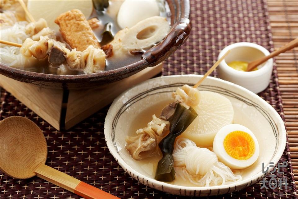 関西風おでん(大根+卵を使ったレシピ)