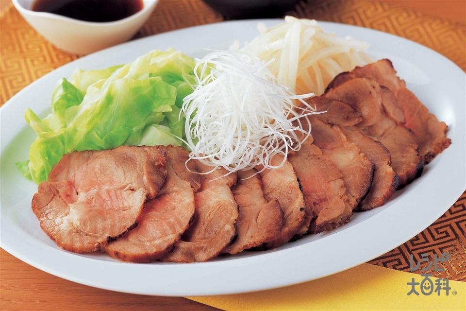 レンジ焼豚