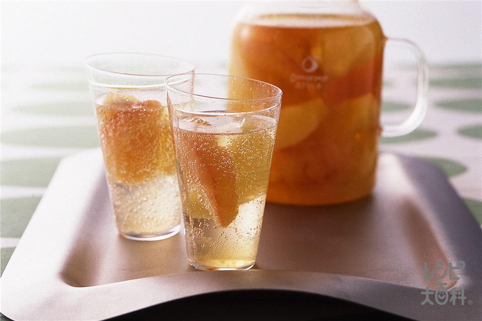グレープフルーツサワードリンク(グレープフルーツ+ルビーグレープフルーツを使ったレシピ)