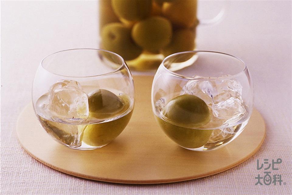 梅酒(青梅+氷砂糖を使ったレシピ)