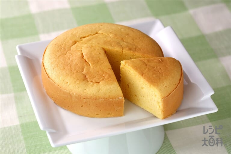 ヘルシースポンジケーキ