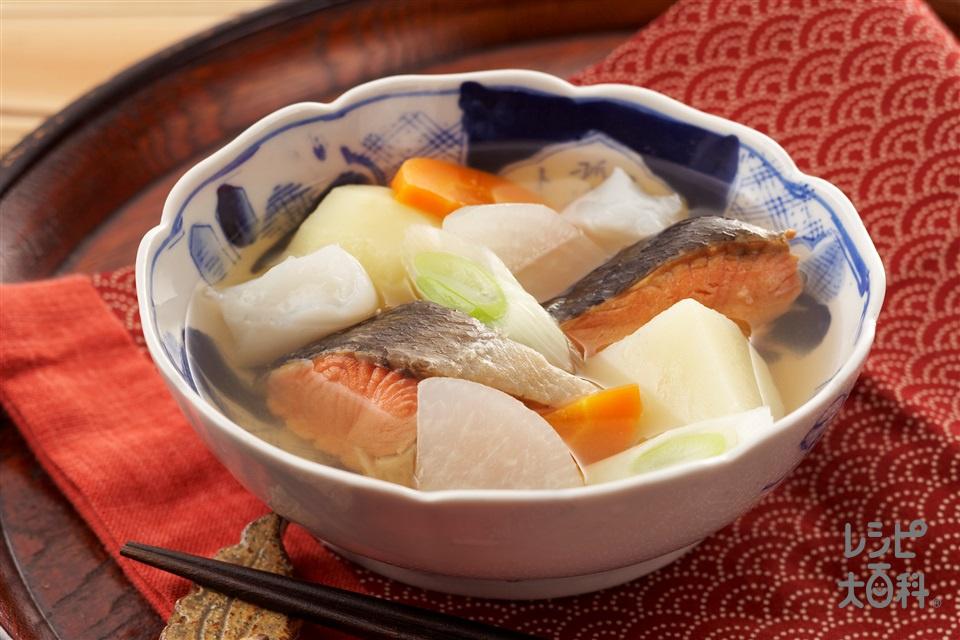 三平汁(新巻きざけ+じゃがいもを使ったレシピ)