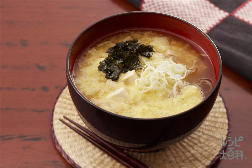 ぬっぺい汁(長いも+木綿豆腐を使ったレシピ)